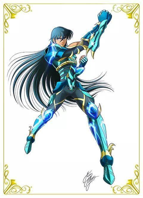 Shiryu na versão anime do filme.