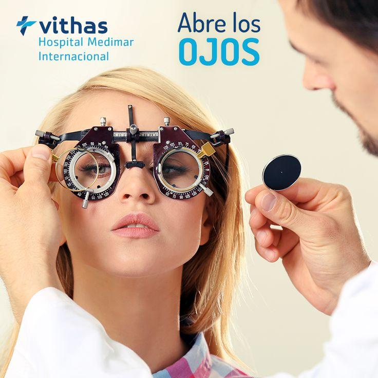 Queremos que veas bien y que no te pierdas nada de lo que te rodea, contamos con una unidad especializada de oftalmología, formadas por el mejor equipo de profesionales de diferentes subespecialidades #HospitalMedimar #Hospital #Medimar #Ojos #oftalmologia