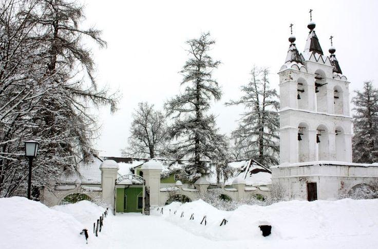 Winter in Podmoscovye