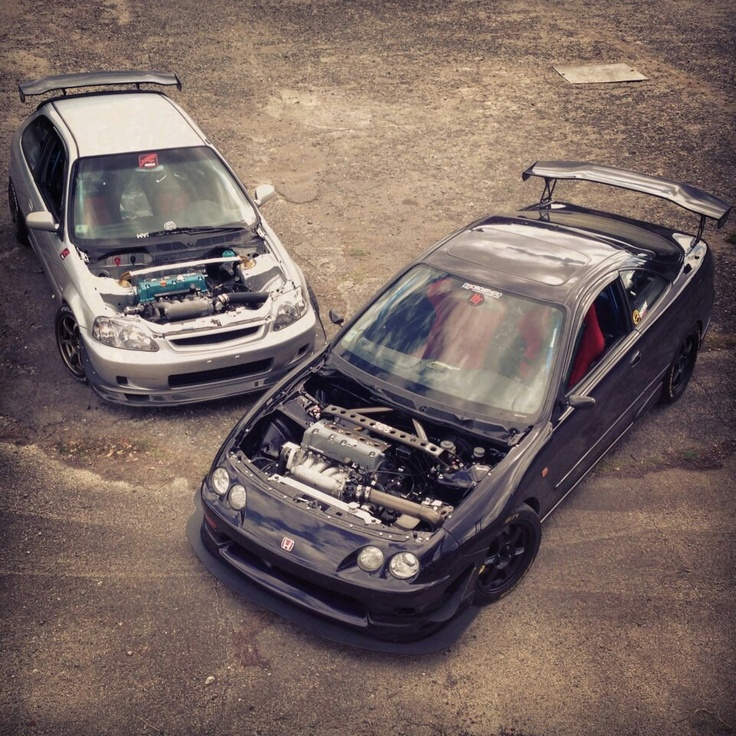 Honda Civic And Integra