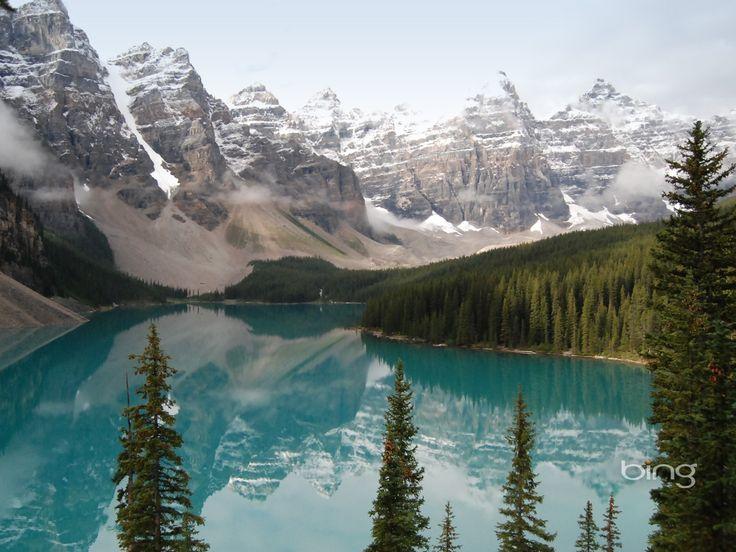 Bing Hd   Windows 7 Bing Thèmes, montagnes, lac, grand écran HD wallpaper ...