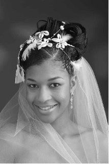 Fancy Updo Wedding Hair