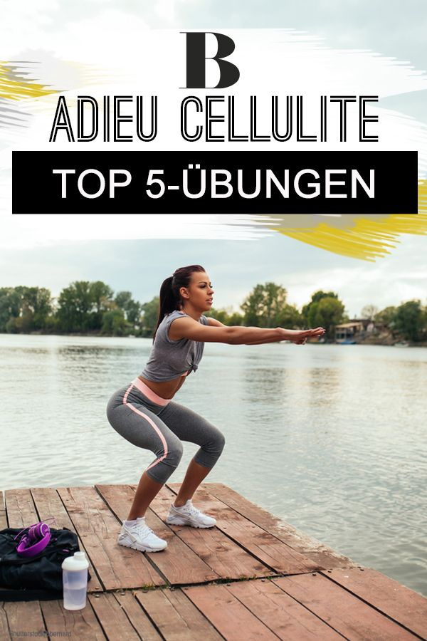 Übungen gegen Cellulite – das sind unsere Top 5 – Brigitte