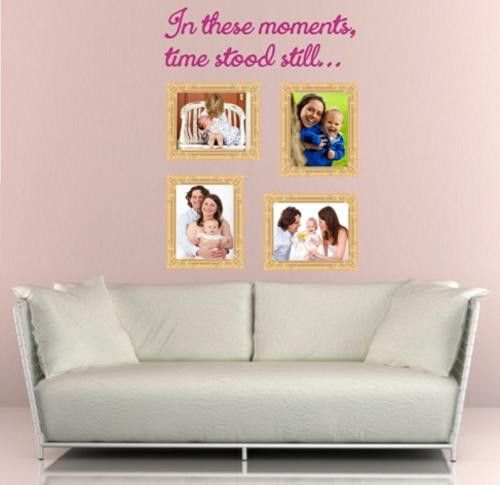 IN THESE MOMENTS WALL ART STICKER 4 LRG VINYL DECAL