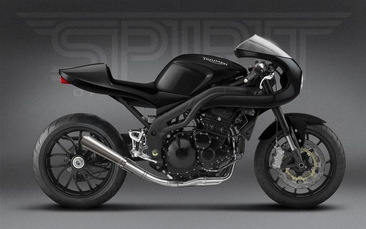 Triumph digital cafe sketch on a speed triple Add a Turbo And I want it even more.