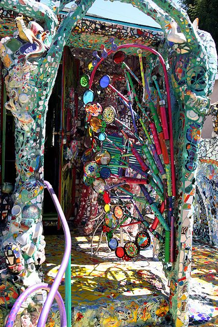 Venice, CA Mosaic House by hiddensandiego11, via Flickr