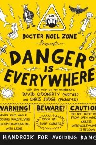 August's kids' book of the month is a brilliantly funny survival handbook for avoiding danger. We are delighted to have 50 copies to give away. To enter the draw simply fill out the form at: http://www.gransnet.com/life-and-style/books/kids-book-of-the-month
