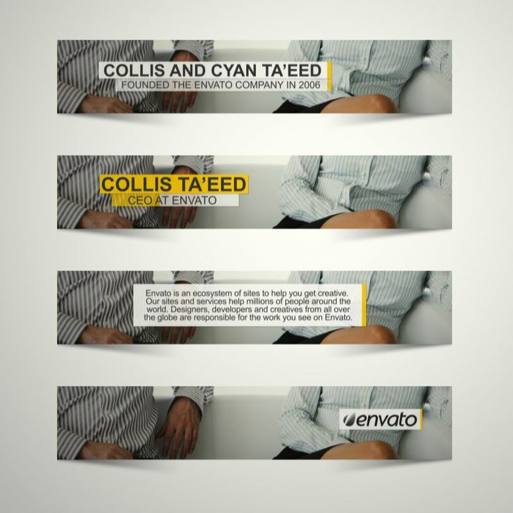 Modern Lower Thirds Templates: http://videohive.net/item/modern-lower-thirds/5447865?ref=CleanAndSimple