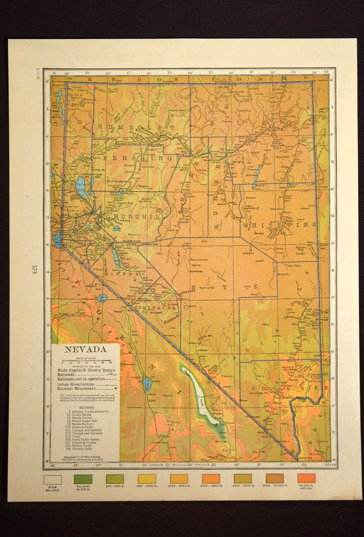 California Map Grand Canyon%0A Washington Dc Map Print