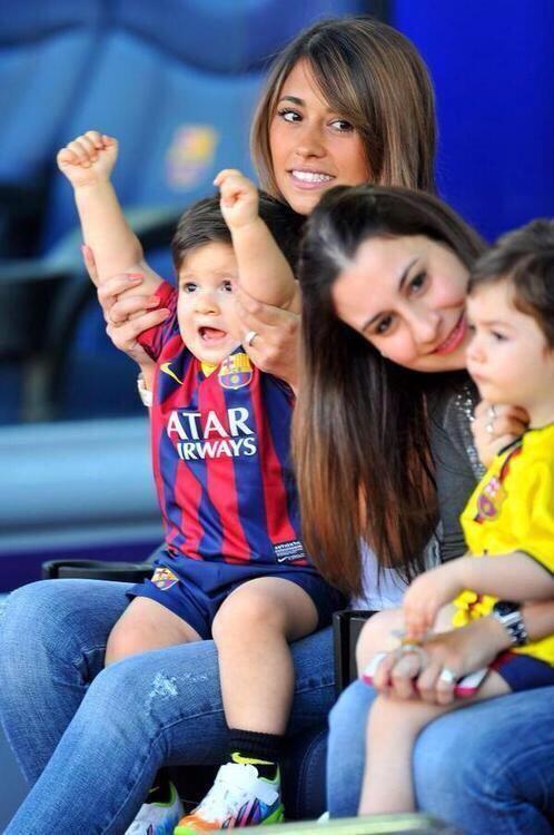 OMGOSH! This is too cute! Thiago Messi