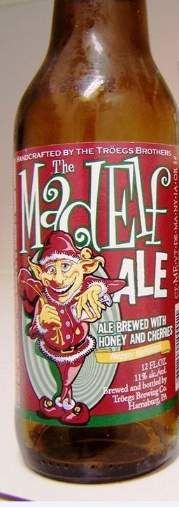 Troegs Mad Elf - Christmas BEER, I get a case of this each year...yum!!!