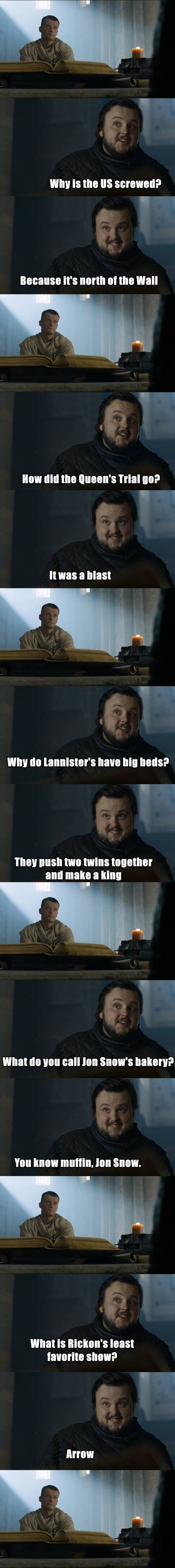 sam-citadel-memes 2. Game of thrones funny humour meme. Samwell Tarly