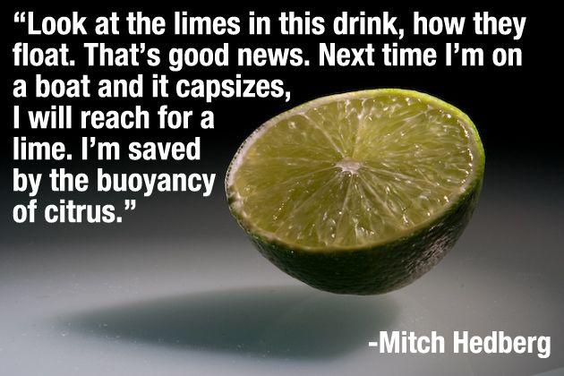 The 30 best Mitch Hedberg jokes about food | HellaWella