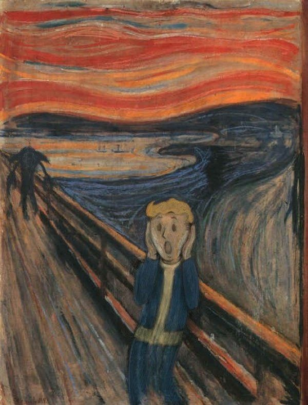 The Scream: Fallout Edition