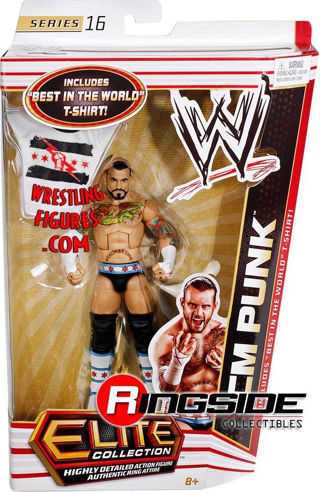 New CM Punk figure with #BestInTheWorld T-Shirt!