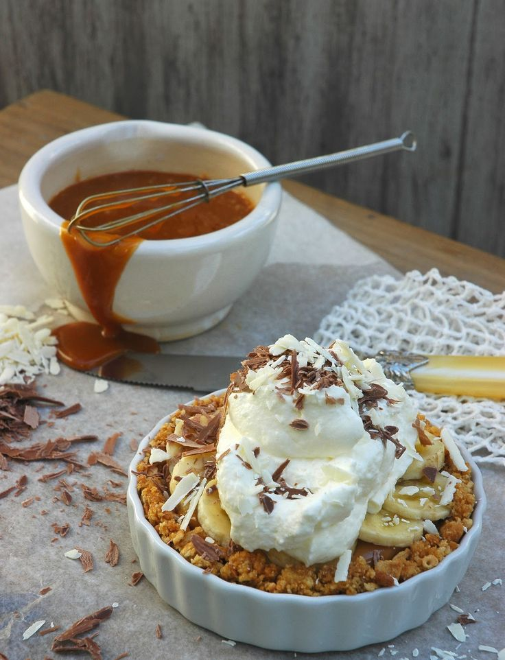 Cappacino Banoffee Pie - A delicious mouthful - My Easy Cooking
