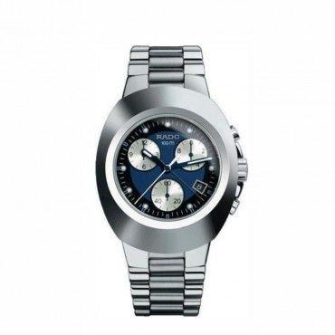 Ανδρικό ελβετικό quartz ρολόι RADO Original με μπλε καντράν, χρονογράφο, ημερομηνία & μπρασελέ   Ρολόγια RADO στο κατάστημα ΤΣΑΛΔΑΡΗΣ στο Χαλάνδρι #Rado #original #χρονογραφος #μπρασελε #ρολοι