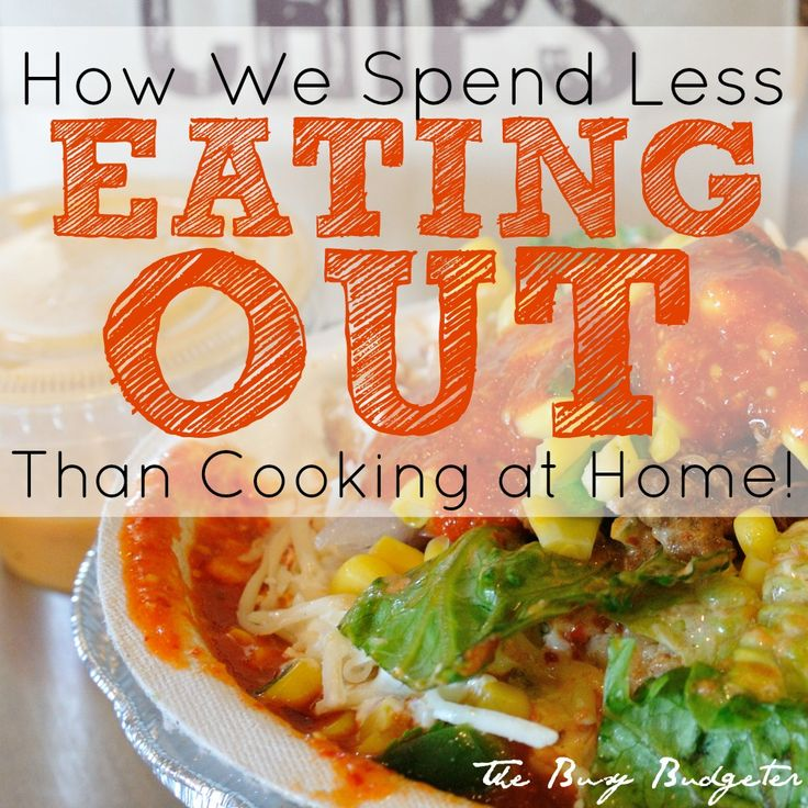 For those moments when life is too insane to cook at home, we eat out. But, we eat out for less than the cost of the groceries we would need to cook at home. Here are our favorite places to get the cheapest meals, and what to order to stretch your money.