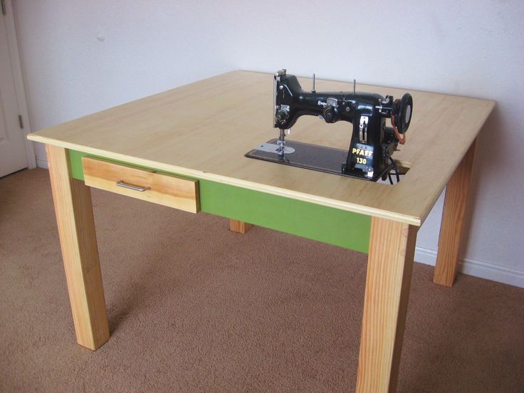Make A Custom Sewing Table