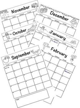 school days calendar color coloring book styles teaching ideas Oct 2016 Calendar school days calendar color coloring book styles teaching ideas pinterest school school calendar and classroom