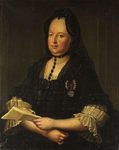 Anonymous (Austria),Portrait der Kaiserin Maria Theresia,18th century,oil on canvas,89×72 cm.
