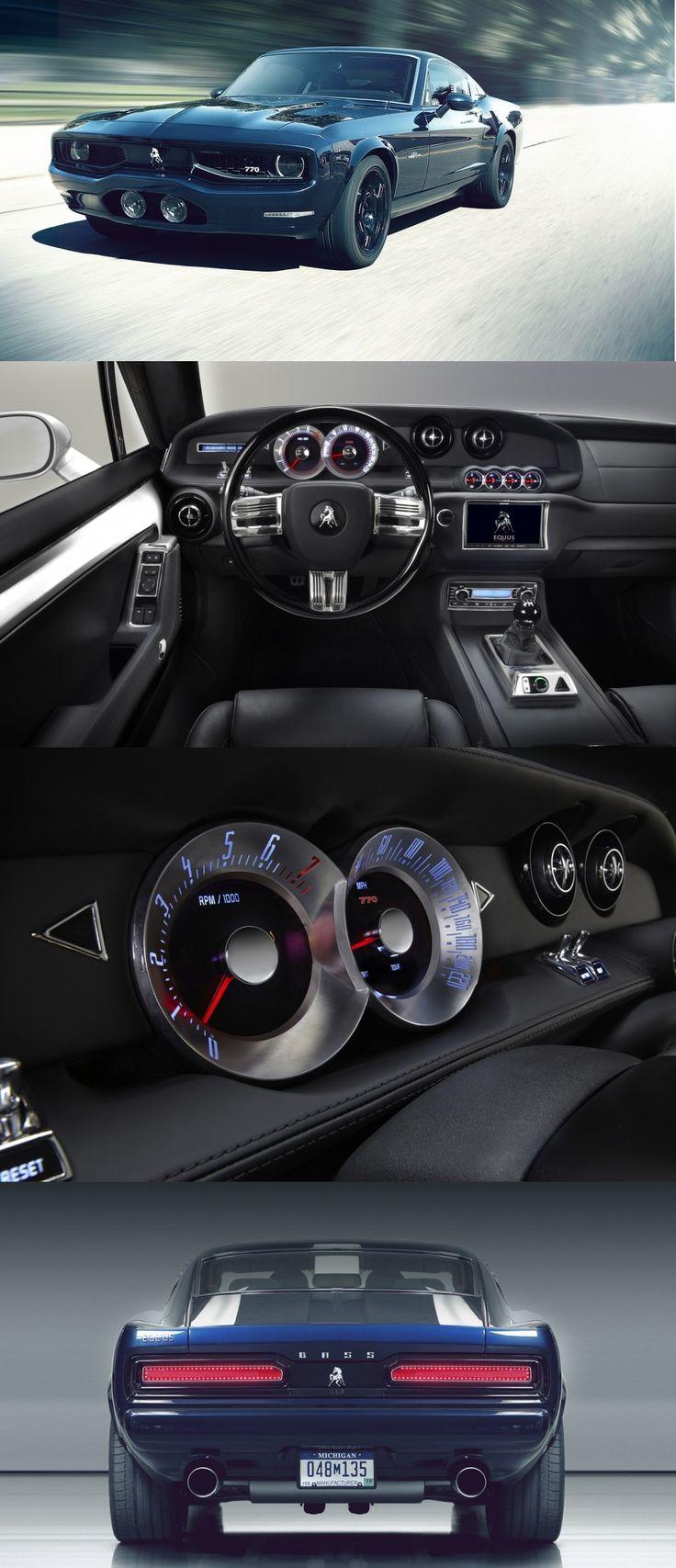 Equus Bass 770 (interior/exterior)