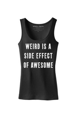 Women's Weird Is Awesome Tank