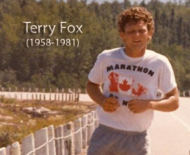 a biography of terry fox an athlete Terry fox est né le 28 juillet 1958 à winnipeg né dans une famille de sportifs, il commence un peu plus tard, au cours de sa première année à l'université.