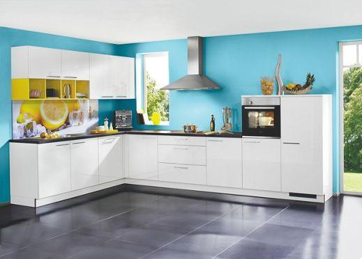 Ihre nolte küche im hochglanz look für perfektes kochen und backen