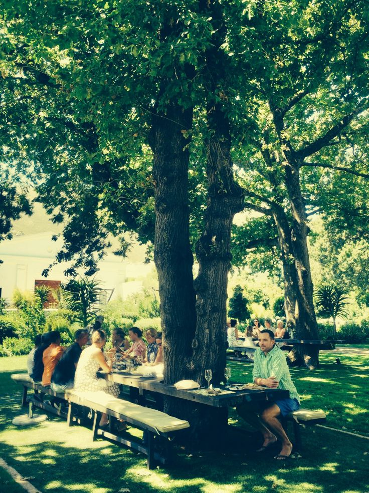 Perfect for a beautiful outdoors lunch under the trees. Or afternoon coffee and cake (and vino) in the winelands. La Motte Wine Farm, R45 Main Road, Franschoek