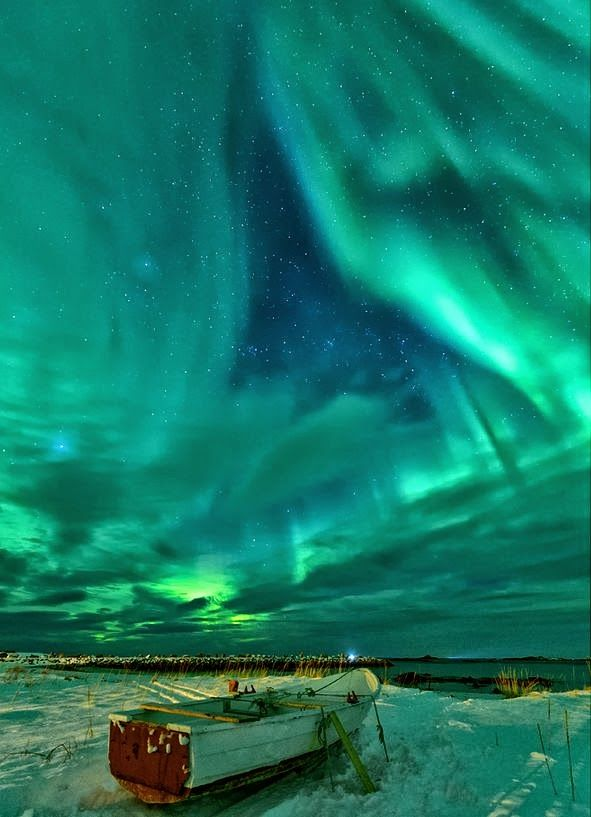 Northern lights in Norway. I want to go see this place one day. Please check out my website thanks. www.photopix.co.nz
