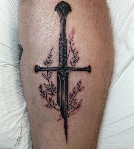 28 Sword Tattoo Designs Ideas: Best 25+ Sword Tattoo Ideas On Pinterest