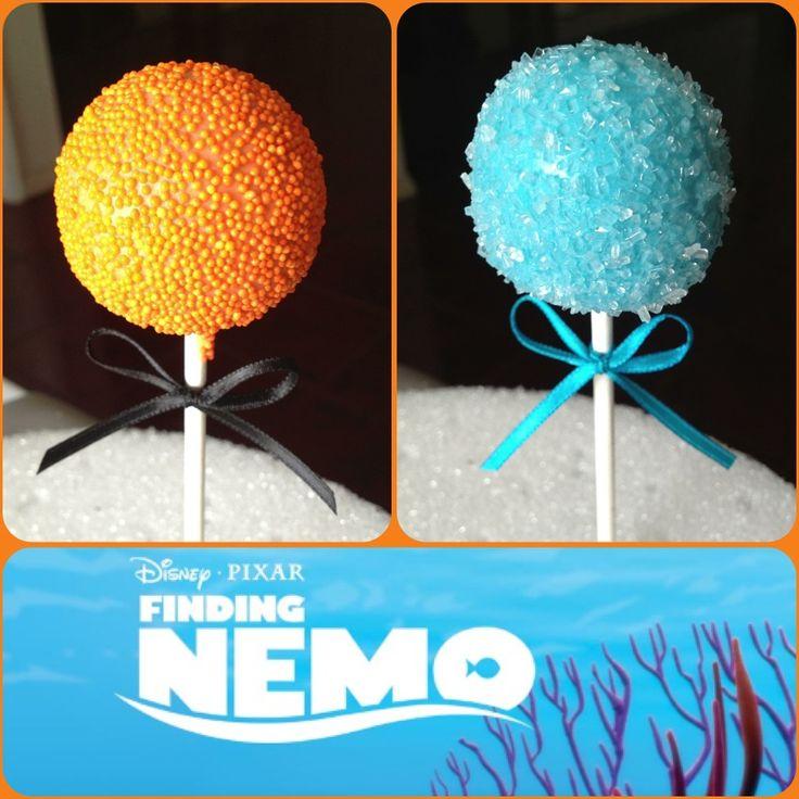 Finding Nemo Cake Pops!