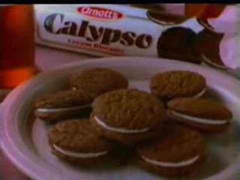Australian Arnotts Calypso Creme Commercial 80s - YouTube