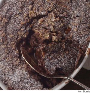 Chocolate-Fudge Pudding Cake - uses brewed coffee and relatively low fat