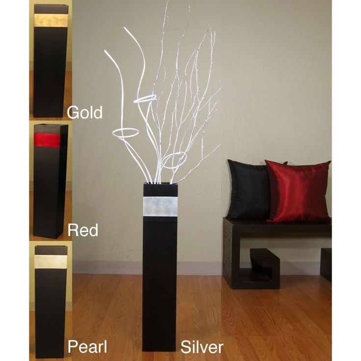 Best Decorative Objects And Sculptures Images On Pinterest - Decorative vases branches elegant room decorating ideas