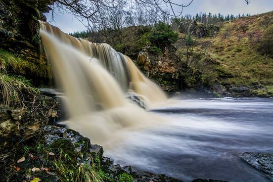 Photo: Waterfall near Gilsland - Amazing #photography by Ian Twoputts Brodie