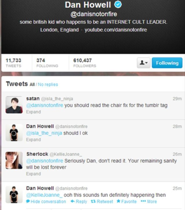 Ugh Dan please don't, it's just awful like nope nopity nope