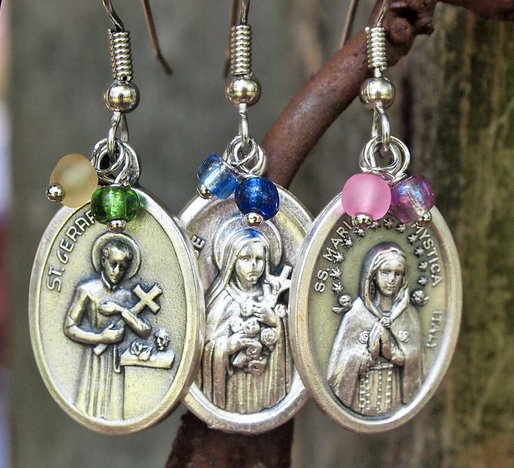 Saint Clare-- but a necklace please!