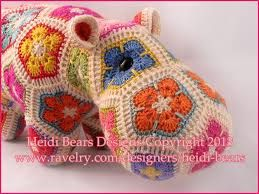 african flower crochet pattern - Google zoeken
