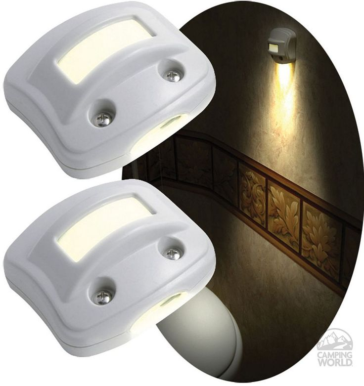 NightOwl Motion-Activated LED Lights - White - Rv Innovations 40702 - LED Lighting - Camping World
