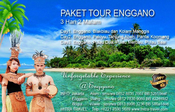 PAKET TOUR ENGGANO