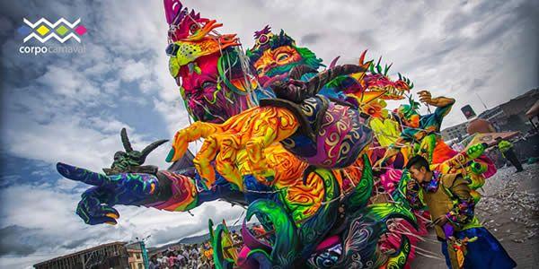 Esta es la Carroza Ganadora en el Carnaval de Pasto