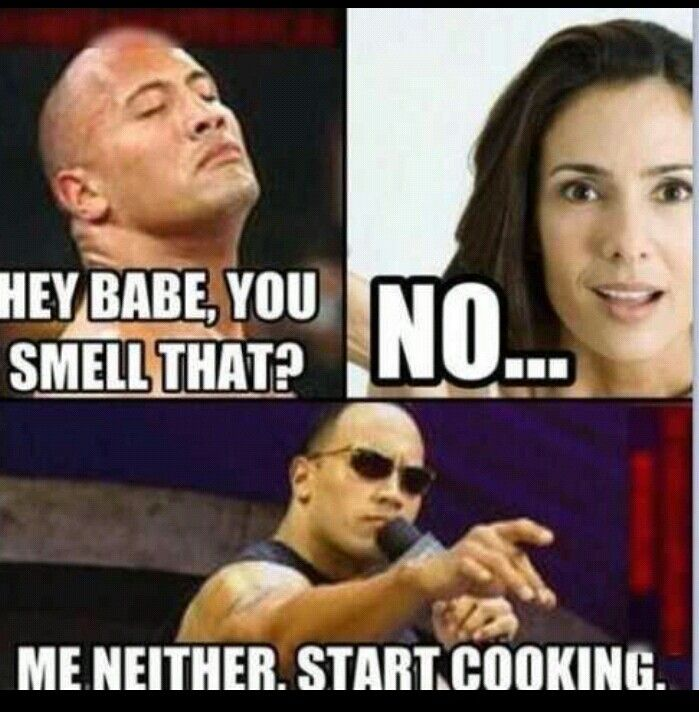 Hilarious, CAN YOU SMELL WHAT THE ROCK IS COOK'N ??? Lol | Funny ...