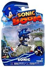 Sonic Boom 3 Inch Plastic Figure Toy - Sonic Platinum Series