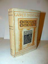 Gabriele D'Annunzio: Contro uno e contro tutti 1919 Fionda xilografie De Carolis