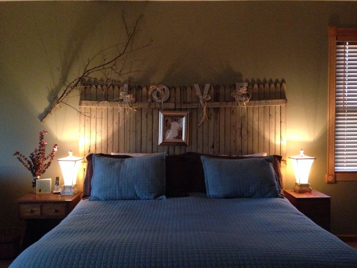 1000 Images About Fence Headboard On Pinterest