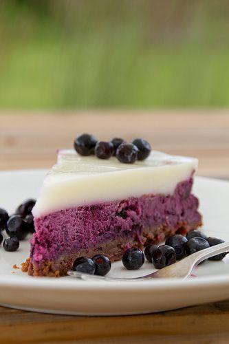 NAMI-NAMI: a food blog: Blueberry Cheesecake recipe