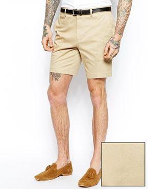ASOS Slim Fit Smart Chino Shorts