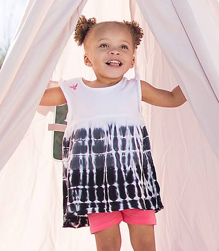 Tie Dye Organic tee from Burts Bees: One of the best undiscovered organic clothing lines for babies and kids